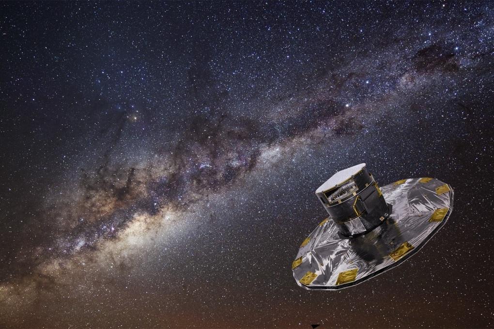 La Via Lattea vista da Gaia