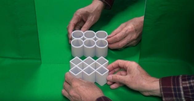 I cilindri allo specchio e altre illusioni ottiche da perdere la testa