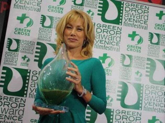 Presentato a Venezia il Green Drop Award, madrina l'attrice Nancy Brilli/ Foto