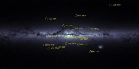gaia, astrometria, stelle, via lattea, satellite gaia, atlante delle stelle 3d