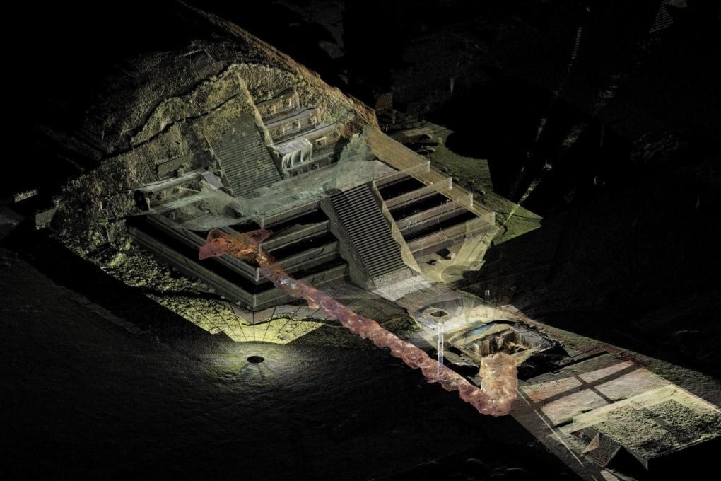 Teotihuacan, mercurio liquido sotto alla piramide
