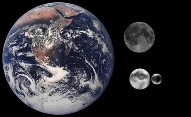 La calotta polare di Plutone