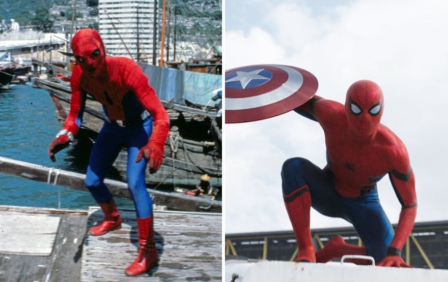 spider-man1977and2016