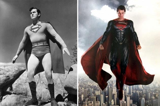 15 supereroi di ieri e di oggi a confronto