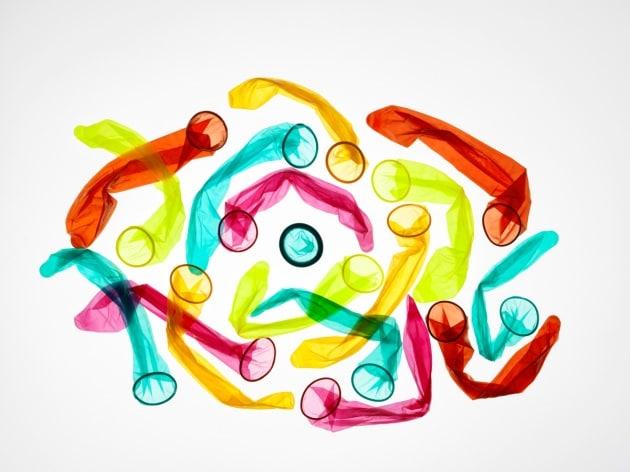 Il preservativo che cambia colore in presenza di infezioni