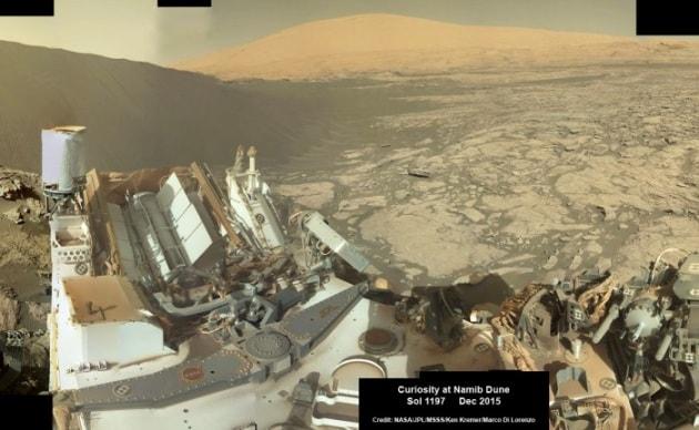 Curiosity: Marte, Namib Dune
