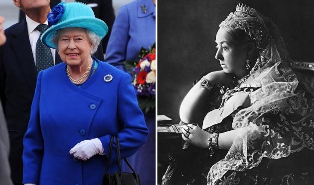 Vittoria ed Elisabetta II, regine a confronto