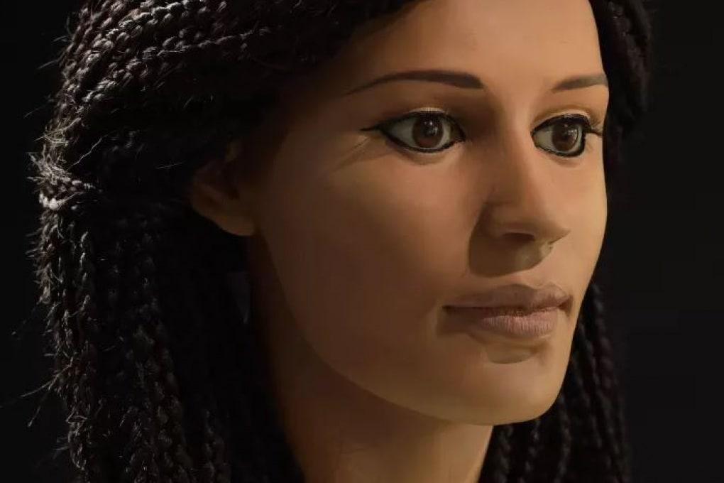 Ricostruito il volto di un'egizia di 2300 anni fa