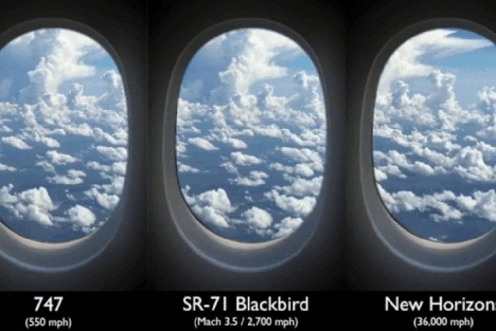 Affacciati al finestrino di New Horizons