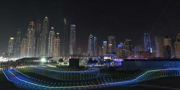 Il Gran Premio dei droni a Dubai
