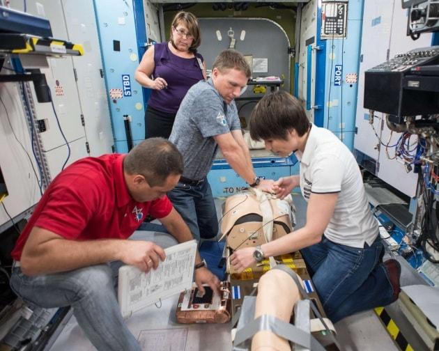 E se un astronauta si sentisse male sulla ISS?