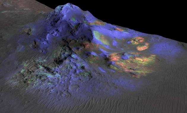 La vita su Marte si nasconde forse nel vetro