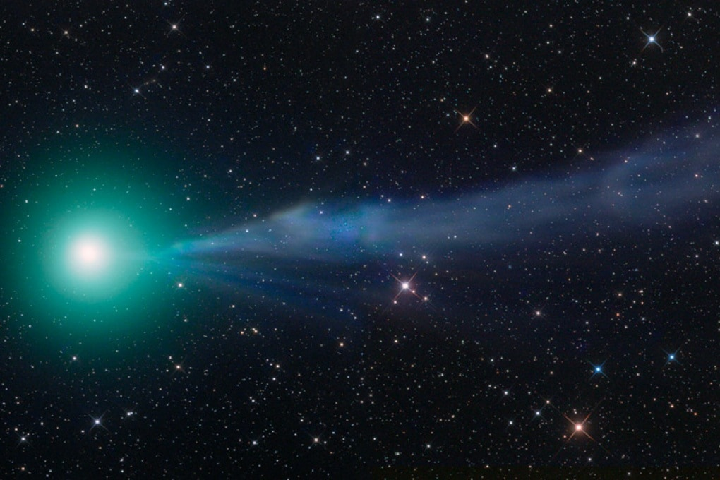 Alcol e zucchero da una cometa