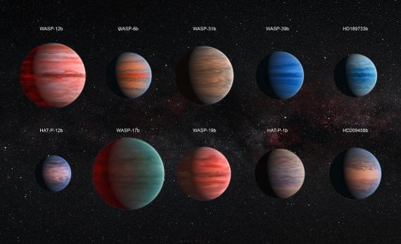 esopianeti, hubble, pianeti extrasolari, gioviani caldi, formazione planetaria, acqua