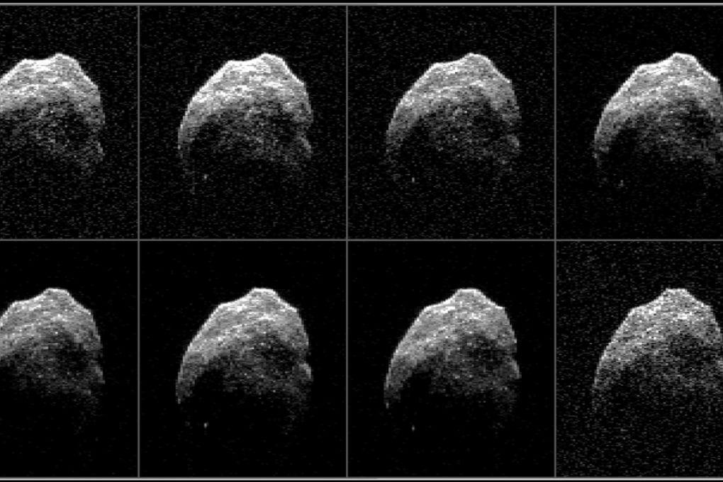 Il ritratto dell'asteroide di Halloween