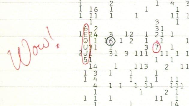 Nuova interpretazione per il segnale che molti hanno creduto alieno