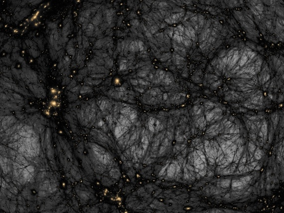 lenti gravitazionali, materia oscura