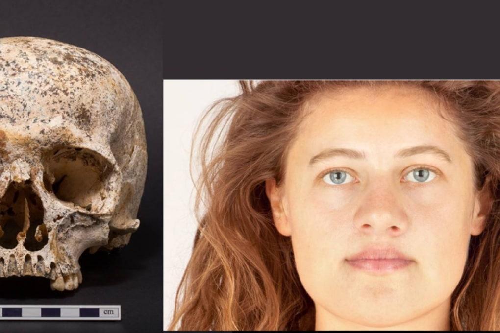Il volto di una donna di 3700 anni fa
