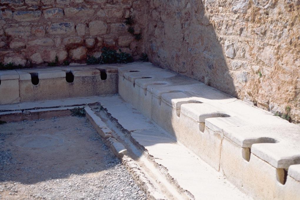 I servizi dei Romani non erano poi così igienici
