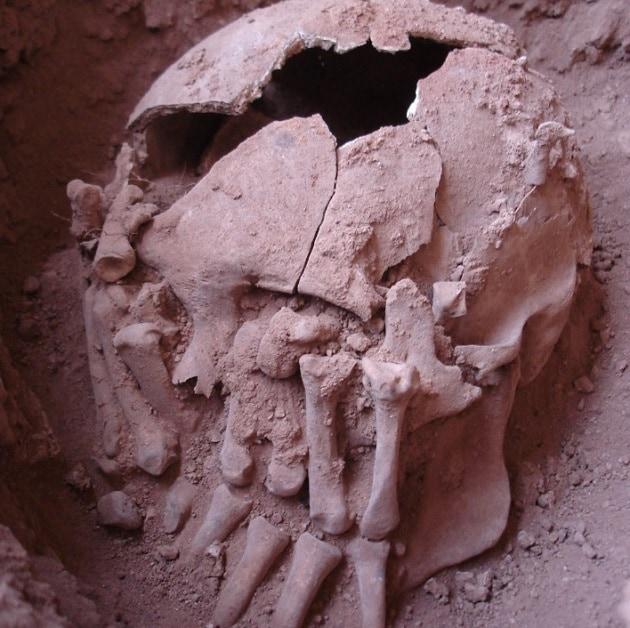 La più antica decapitazione del Nuovo Mondo