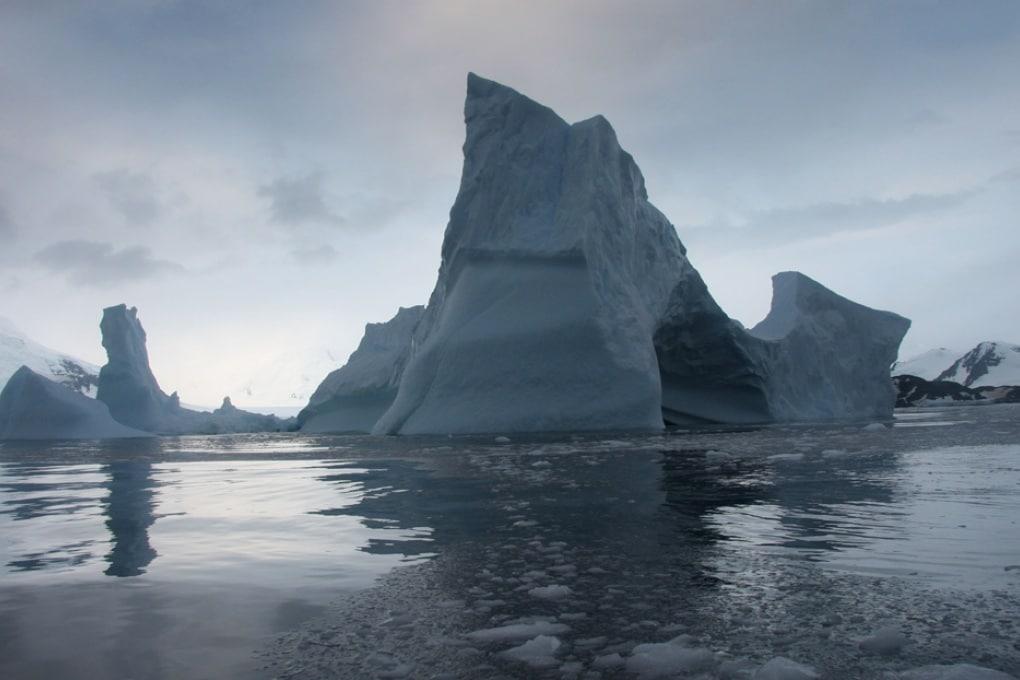La scomparsa della piattaforma di ghiaccio Larsen B prevista per il 2020