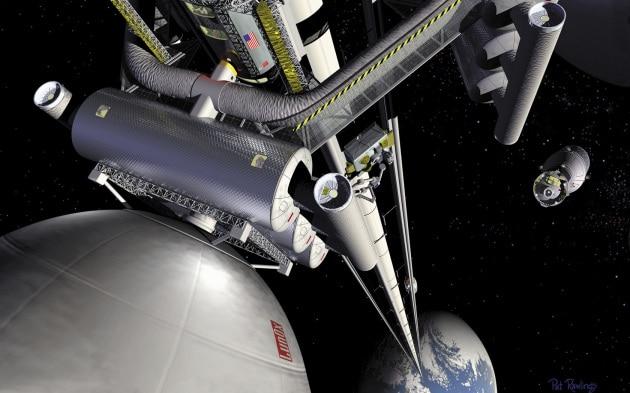 Per colpa di un atomo addio all'ascensore spaziale