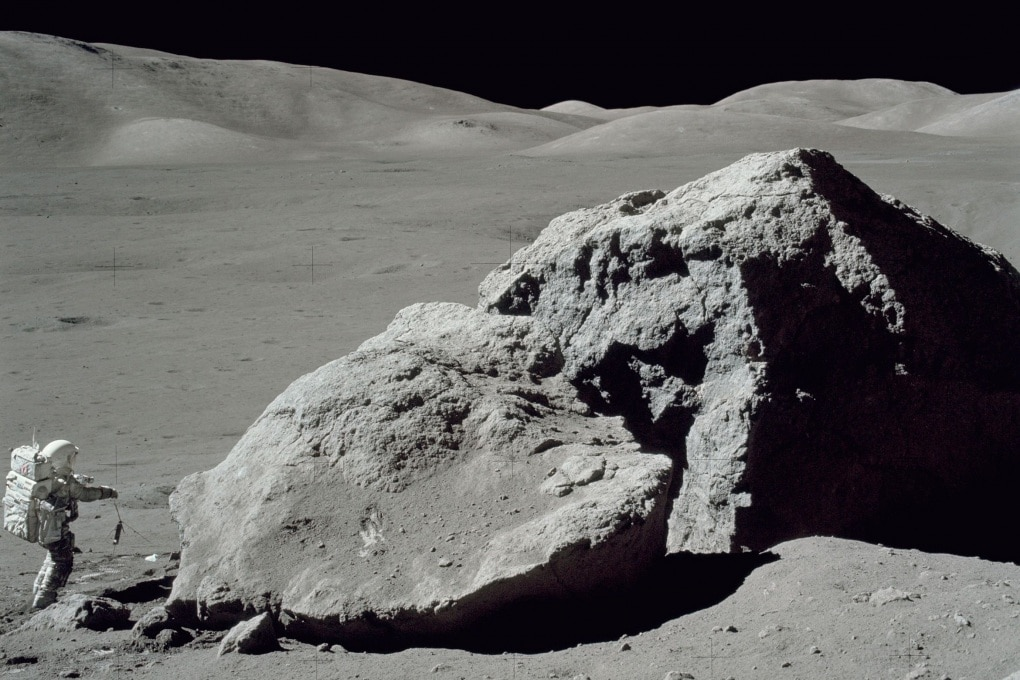 Le molecole organiche nelle rocce lunari