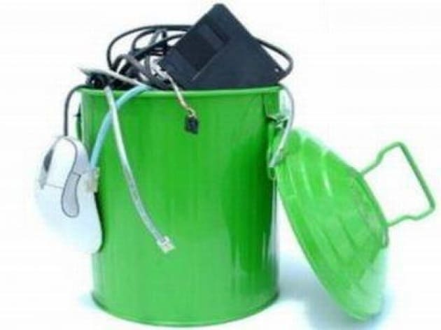 Una stella verde brilla nel cielo del riciclaggio return to value