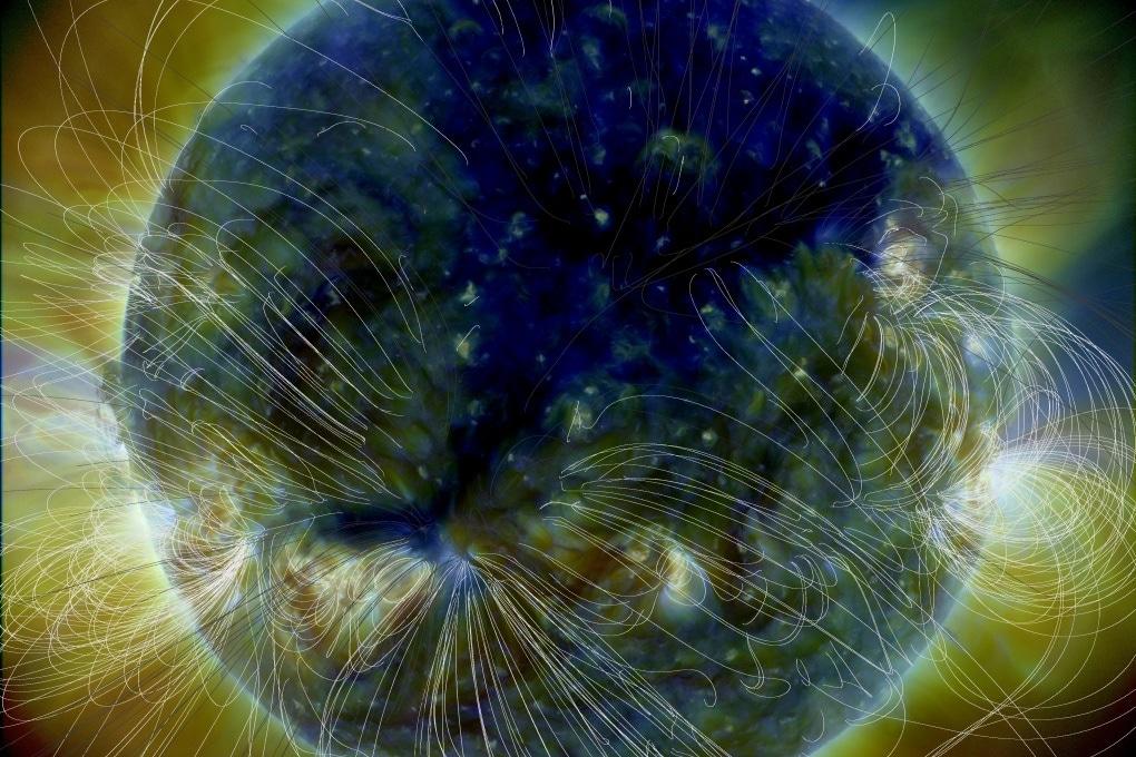 Sole: il buco coronale ripreso dal Solar Dynamic Observatory