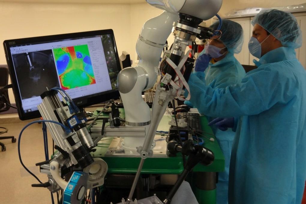 L'operazione la fa (solo) il robot