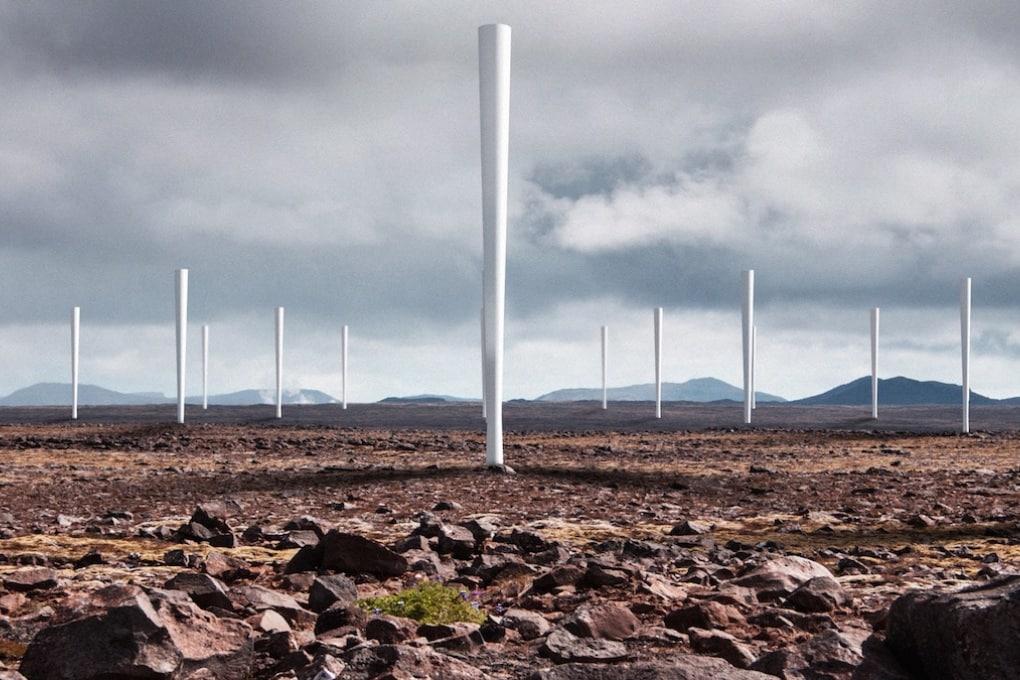 Energia dal vento, senza le pale