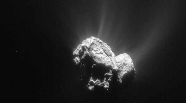 C'è ossigeno sulla cometa Churyumov-Gerasimenko