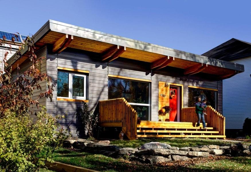 Le case a impatto zero o quasi for Casa costruita