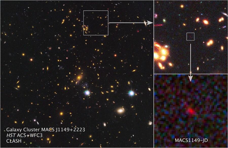 12 galassie lontane lontane