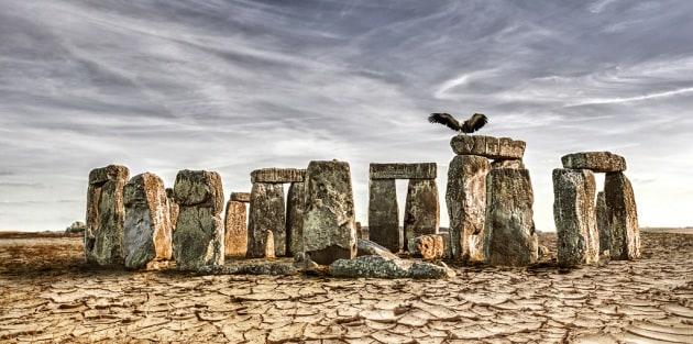 I siti turistici più famosi, in assenza d'acqua