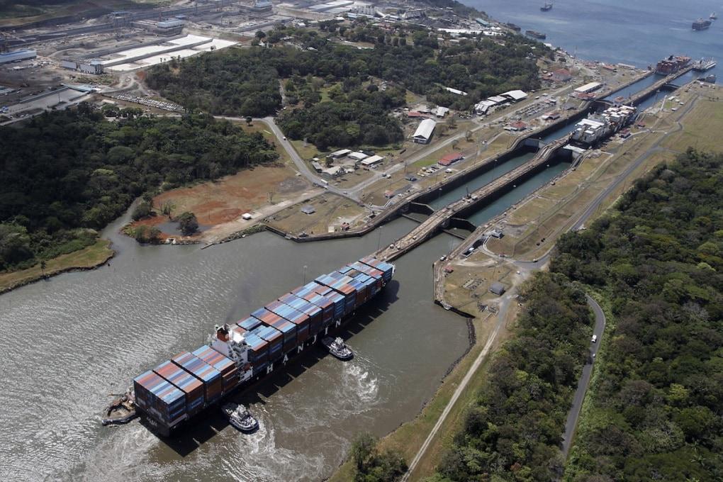 Il canale di Panama si allarga