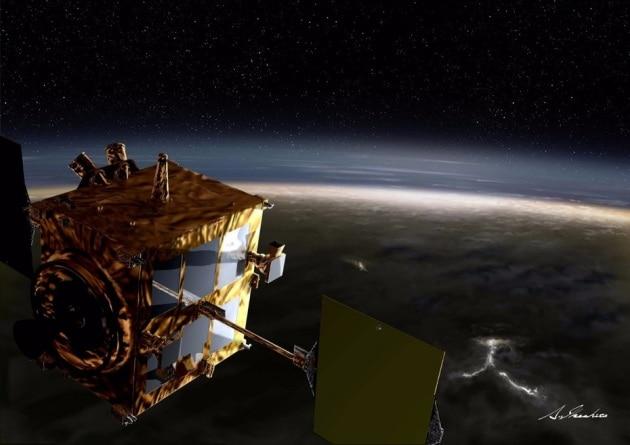 La sonda Akatsuki in orbita attorno a Venere