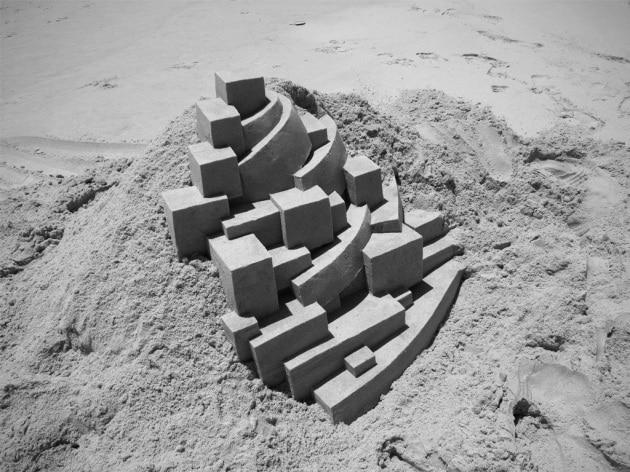 Calvin Seibert, il mago dei castelli di sabbia