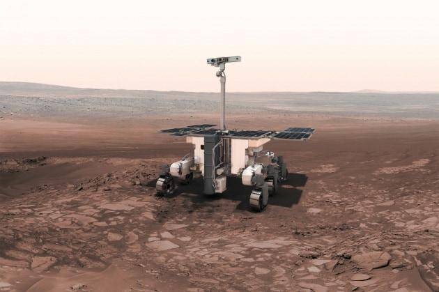 Una fabbrica d'acqua su Marte