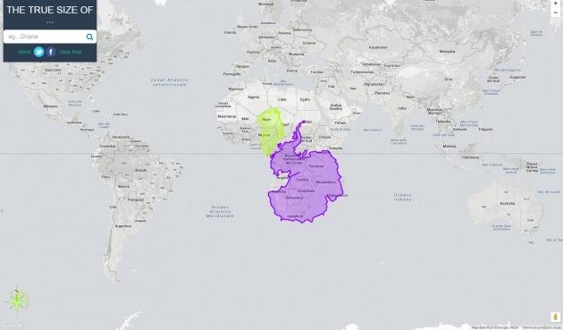 La prova di quanto le mappe ci ingannano