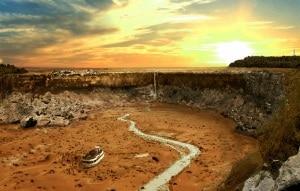 i siti turistici più famosi, senza acqua