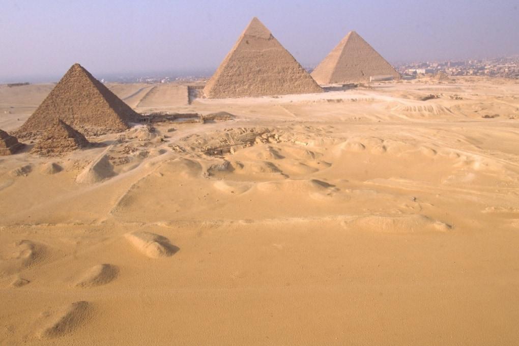 Il registro della Piramide di Cheope