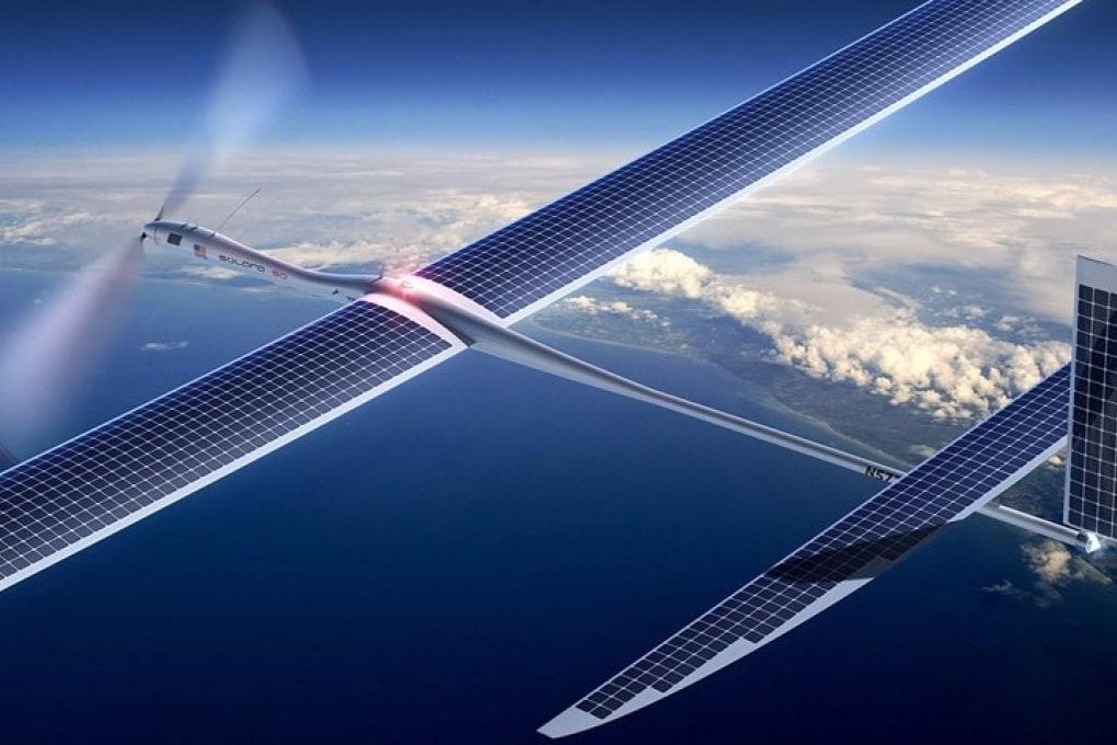 Droni solari per la rete 5G di Google