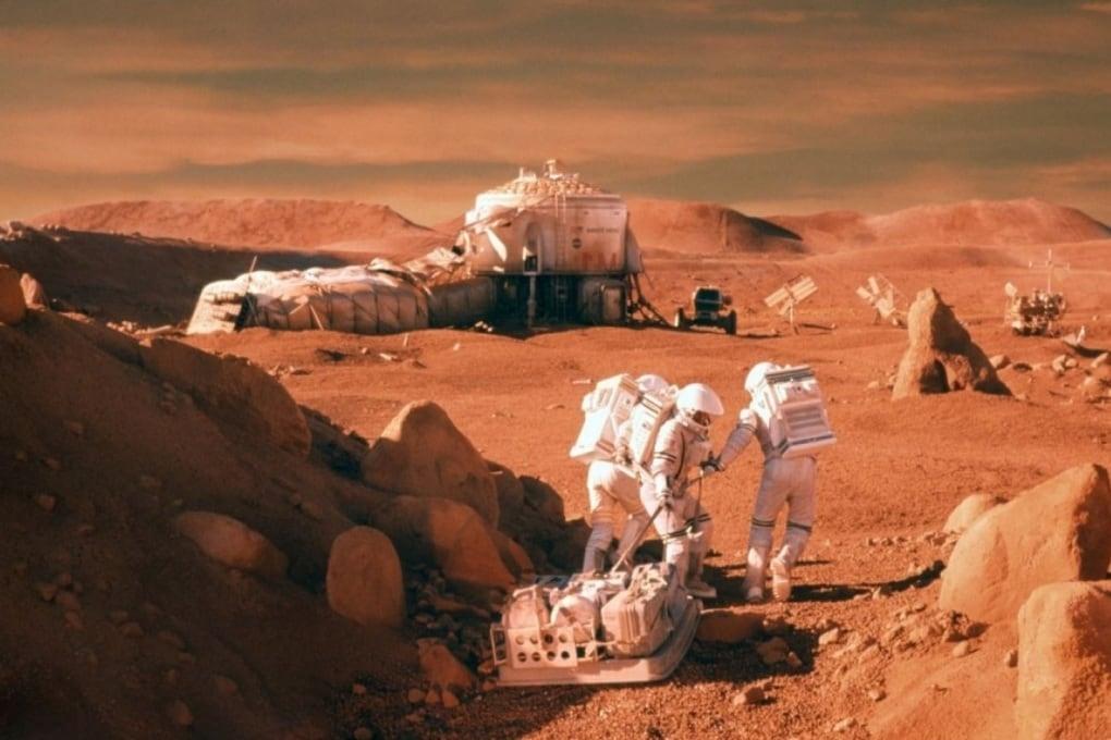 Terra-Marte in tre giorni