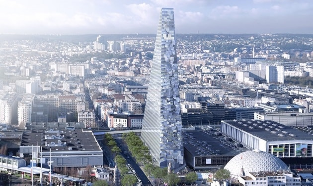 Tour Triangle, la piramide grattacielo di Parigi