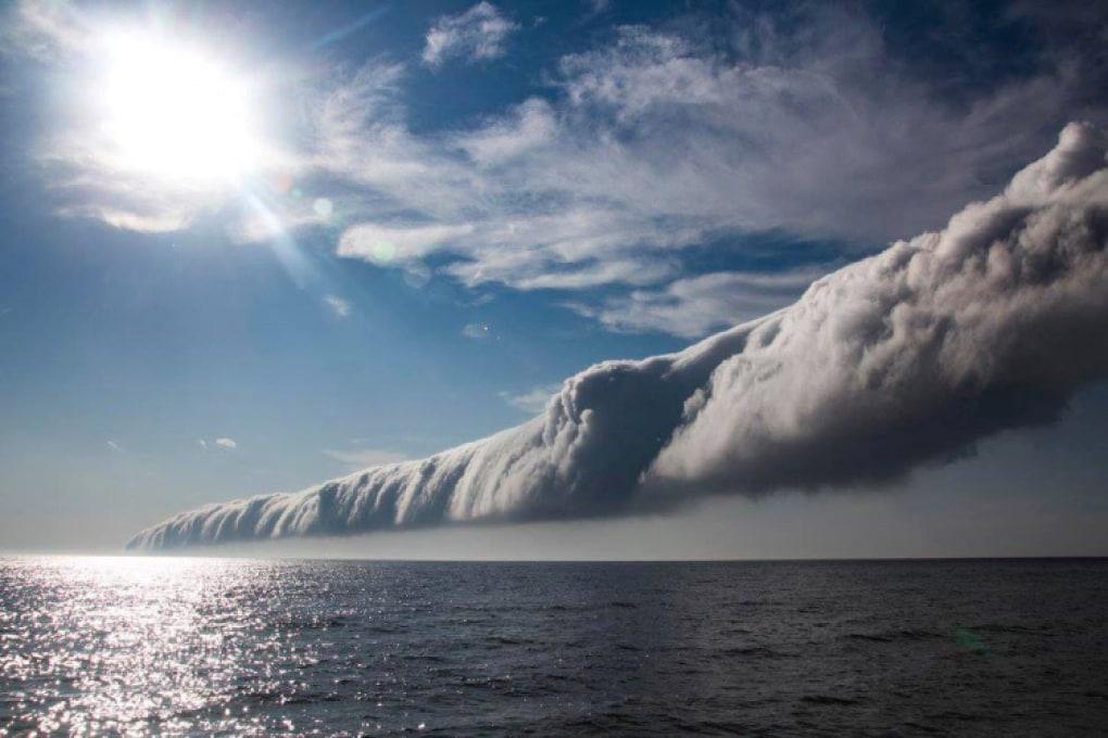 Roll cloud: nubi minacciose e innocue