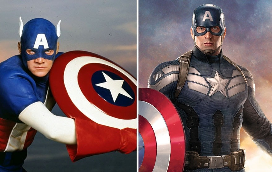 captainamerica1990and2016