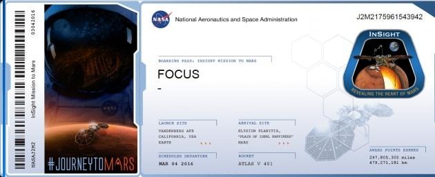 Il tuo nome su Marte