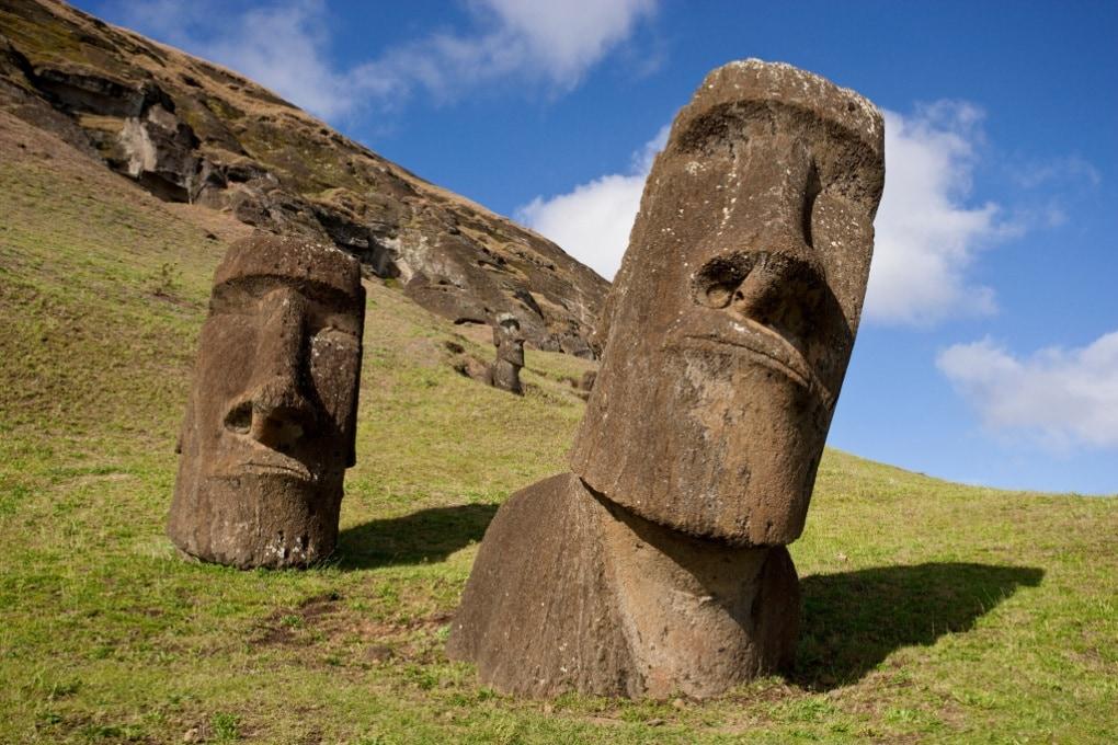 I Moai dell'Isola di Pasqua hanno anche il busto?