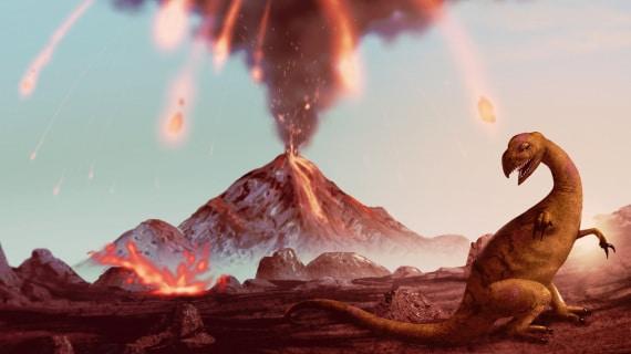 cretaceo, estinzione dei dinosauri, eruzioni vulcaniche, riscaldamento globale